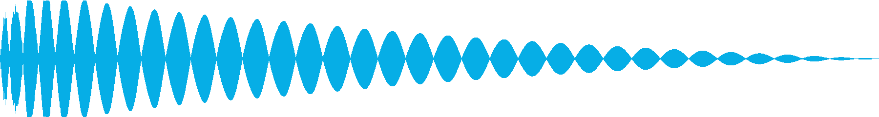 DTM Kick 96 オリジナル音源の再生済みの波形