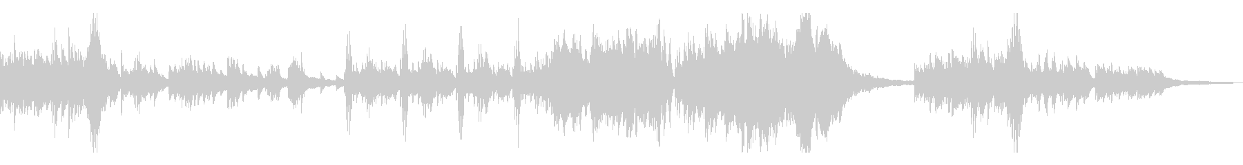 優雅で切ない伝統的な和風曲7-ピアノソロの未再生の波形