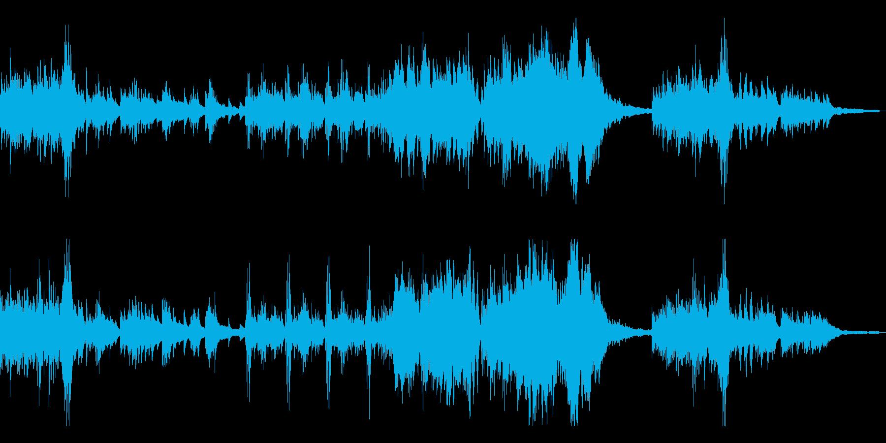 優雅で切ない伝統的な和風曲7-ピアノソロの再生済みの波形
