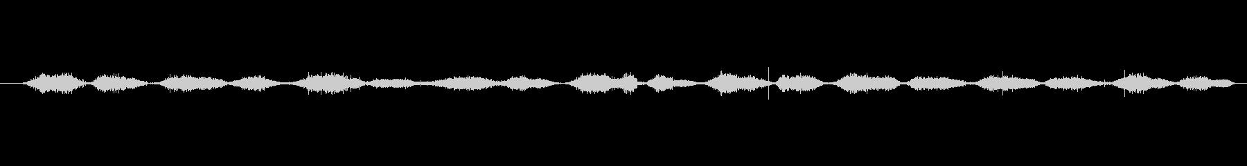 バルーン スクラブヘア01の未再生の波形