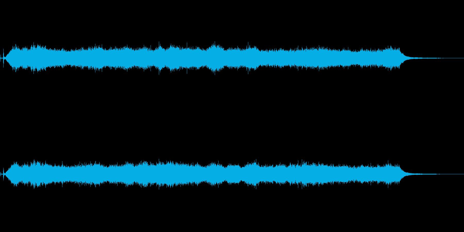 掃除機-掃除機の再生済みの波形