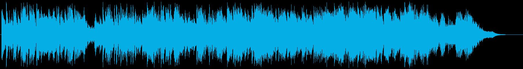 鍵盤ハモニカ・Flute等のバラードの再生済みの波形