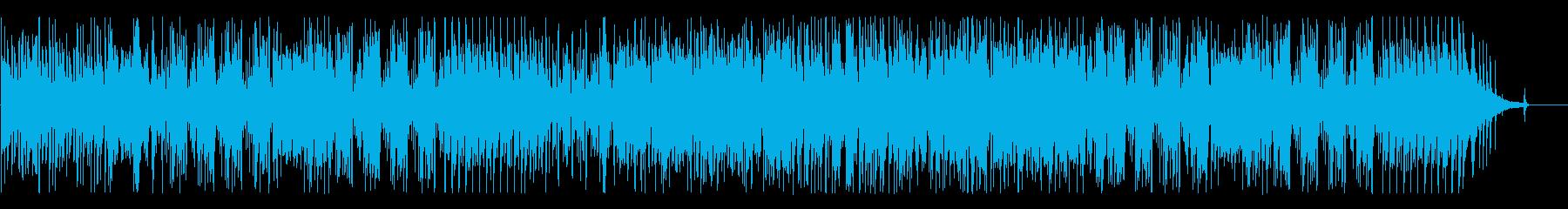 派手でスリリングな高速ジャズの再生済みの波形
