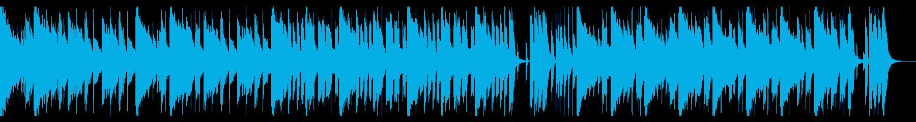 ちびっ子の運動会 マリンバの再生済みの波形