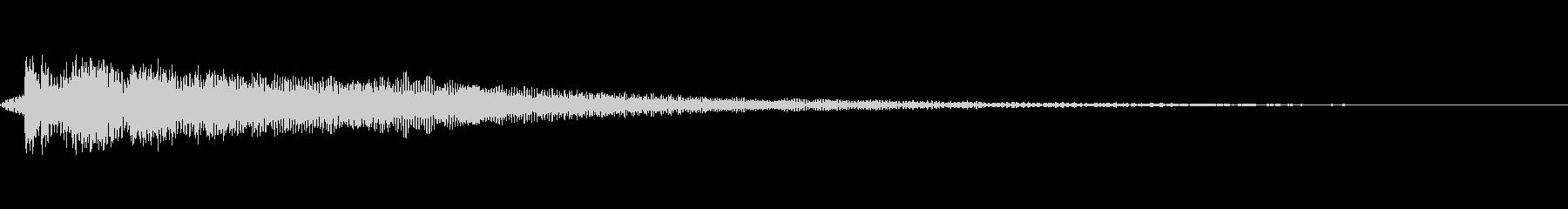 [ティウーン]失敗(可愛くコミカル)の未再生の波形