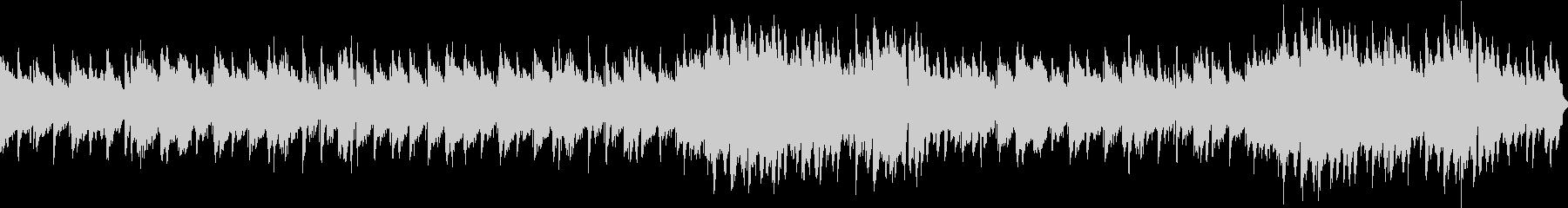 ジャズワルツ風の洒落たサックス曲の未再生の波形