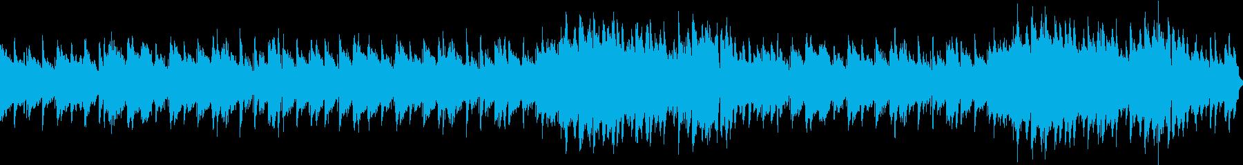 ジャズワルツ風の洒落たサックス曲の再生済みの波形