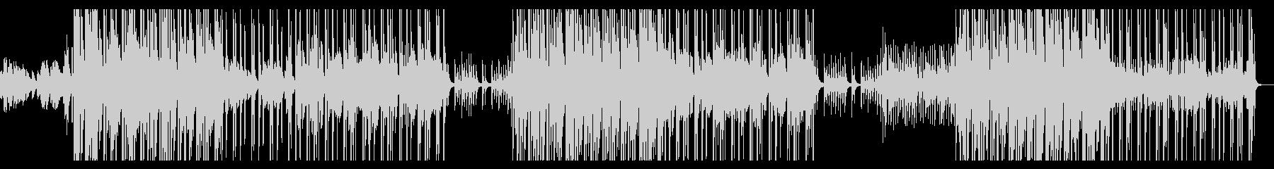 切なく壮大で青春エモなピアノヒップホップの未再生の波形