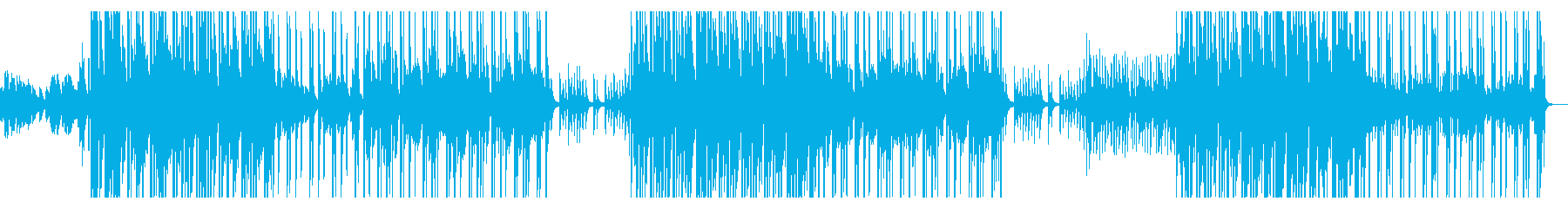 切なく壮大で青春エモなピアノヒップホップの再生済みの波形
