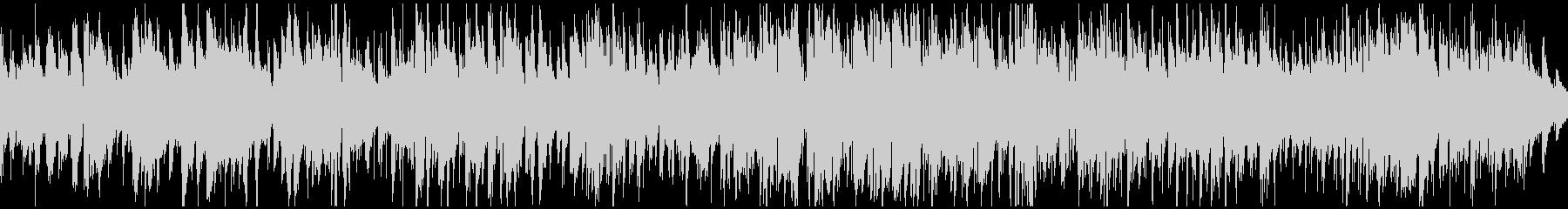 切ないアコースティックジャズ ※ループ版の未再生の波形