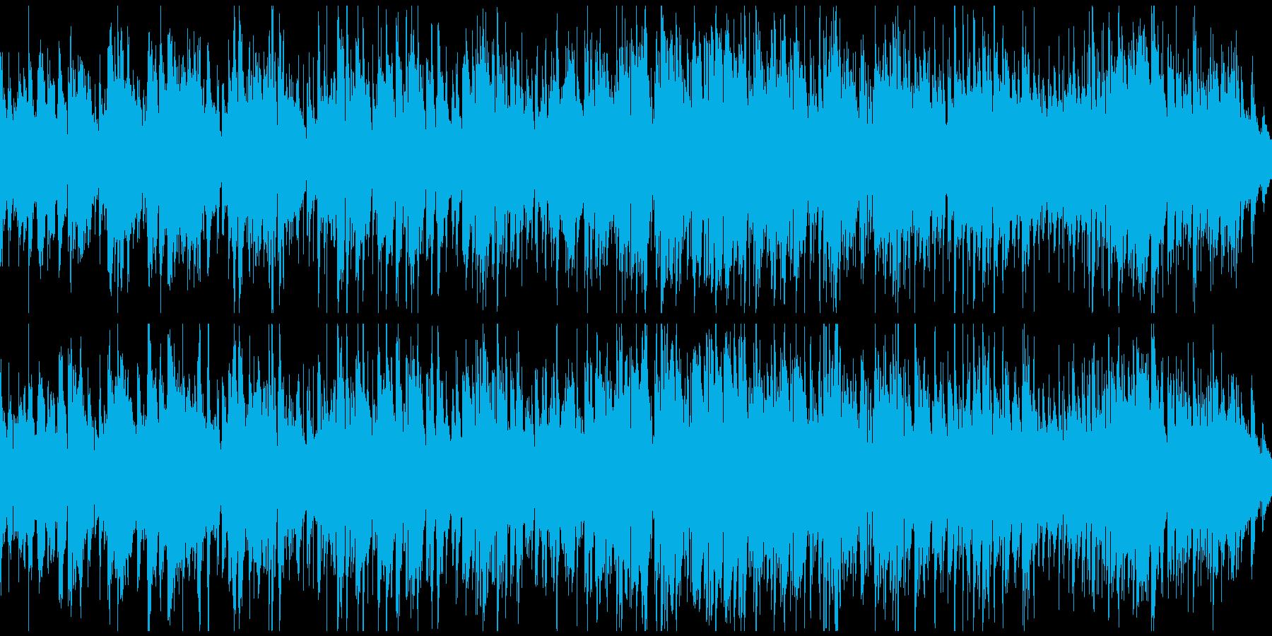 切ないアコースティックジャズ ※ループ版の再生済みの波形