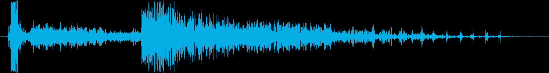 衝撃 エアストライク10の再生済みの波形