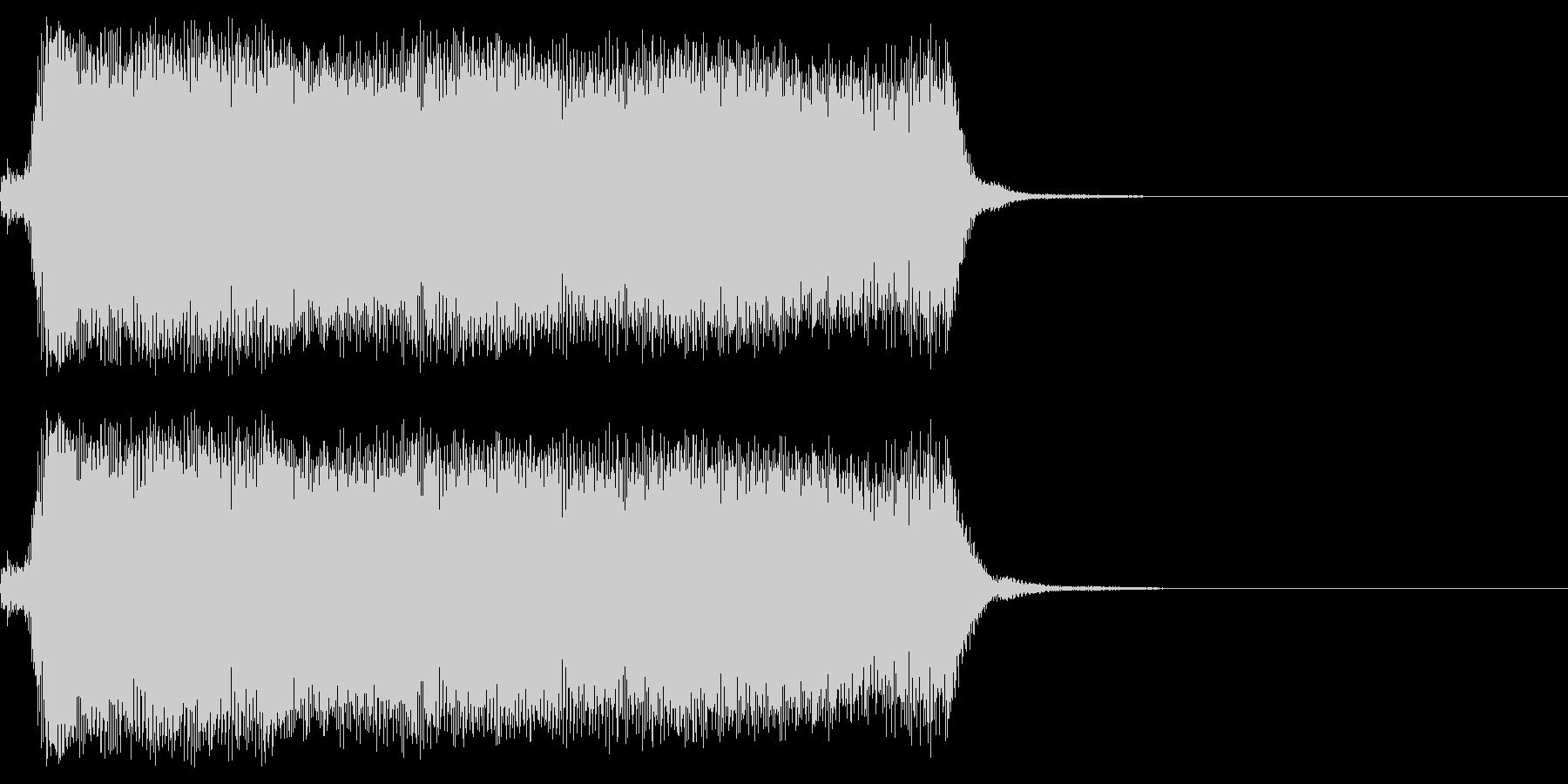 蒸気機関車の汽笛1  ポーの未再生の波形
