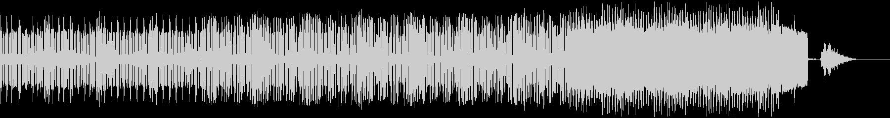 不思議 エレクトロ ジングル クールの未再生の波形