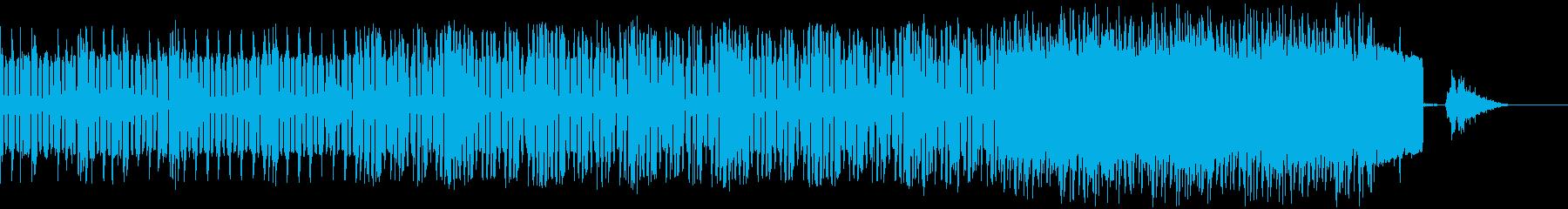 不思議 エレクトロ ジングル クールの再生済みの波形