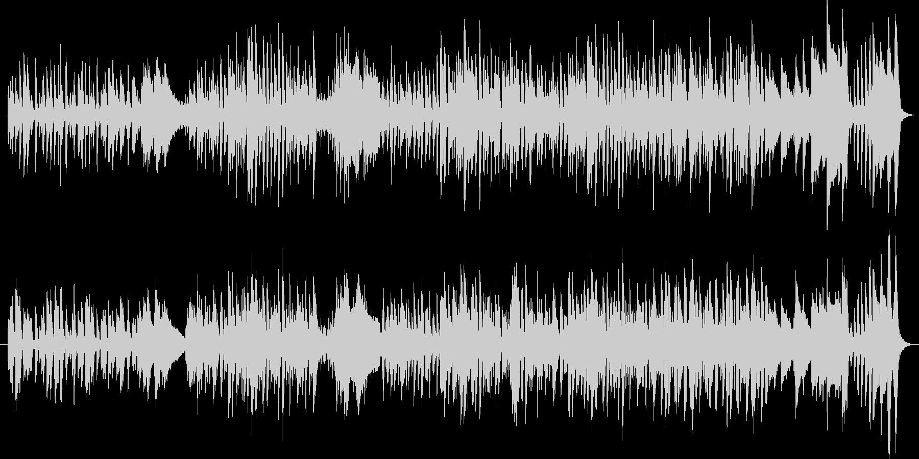 コミカルなピアノソロ曲の未再生の波形