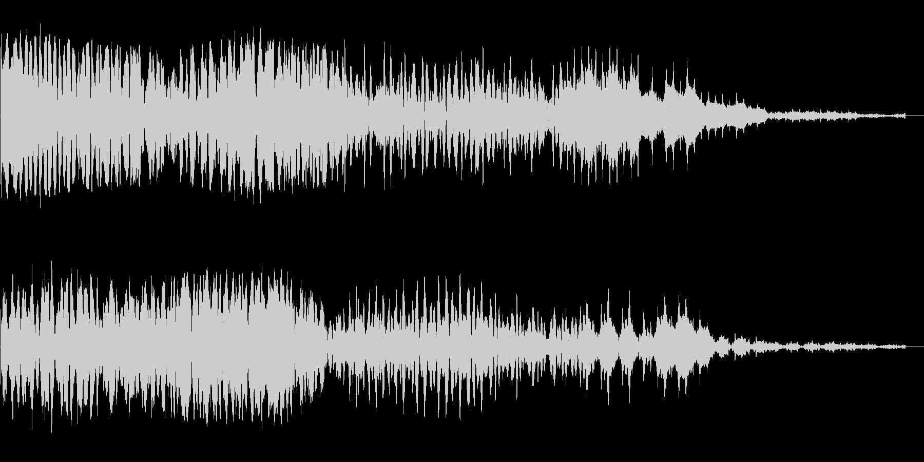 ボワ〜ンボ〜(神秘的・幻想的な効果音)の未再生の波形