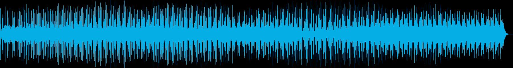 潜水していくようなアンビエントテクノの再生済みの波形