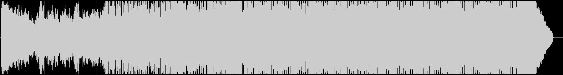 一夏の思い出に浸るスローテンポハウスの未再生の波形