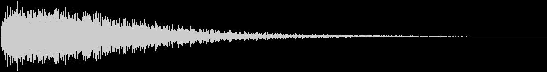 大残響メタリックスラムインパクト3の未再生の波形