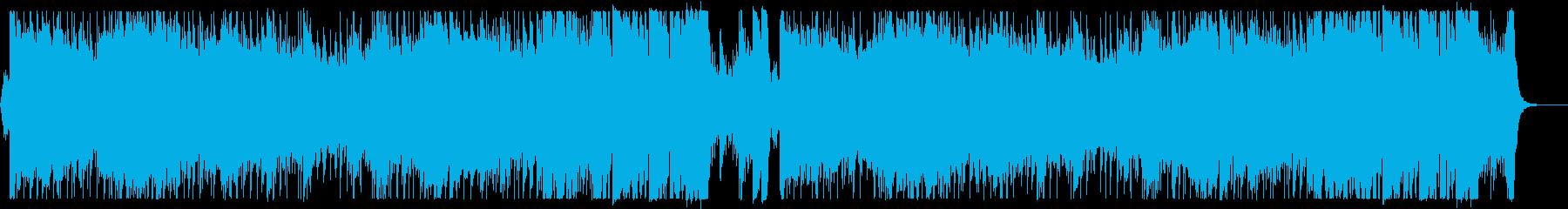 アグレッシブな和風シンフォニックの再生済みの波形