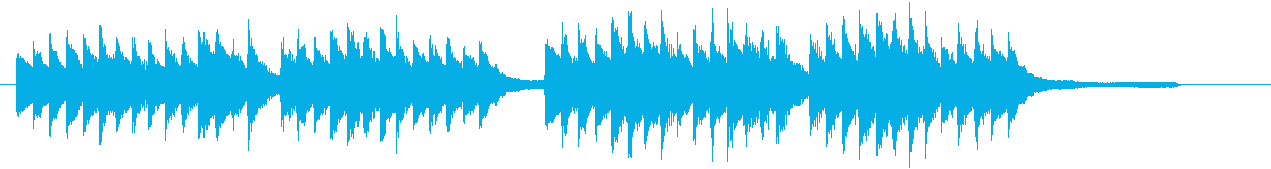 CM30秒、優しく感動的なピアノソロ13の再生済みの波形
