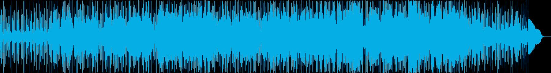 中国風のほのぼのとしたBGMの再生済みの波形
