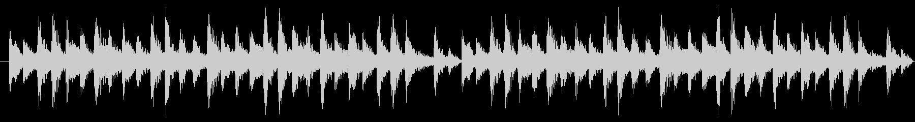 和風BGM_シンキングTime考え中の未再生の波形