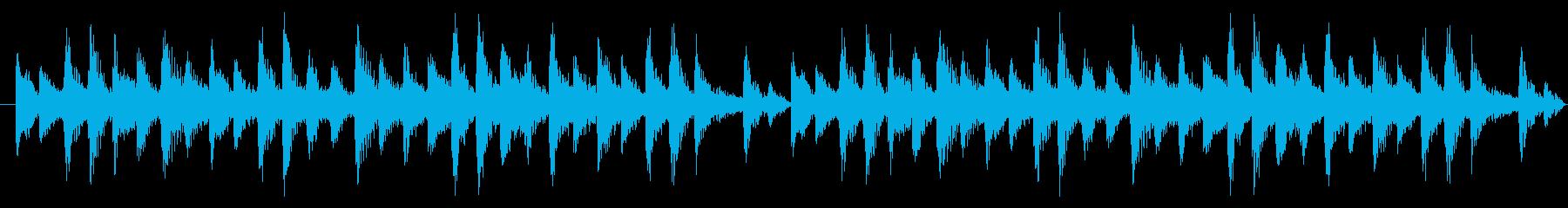 和風BGM_シンキングTime考え中の再生済みの波形