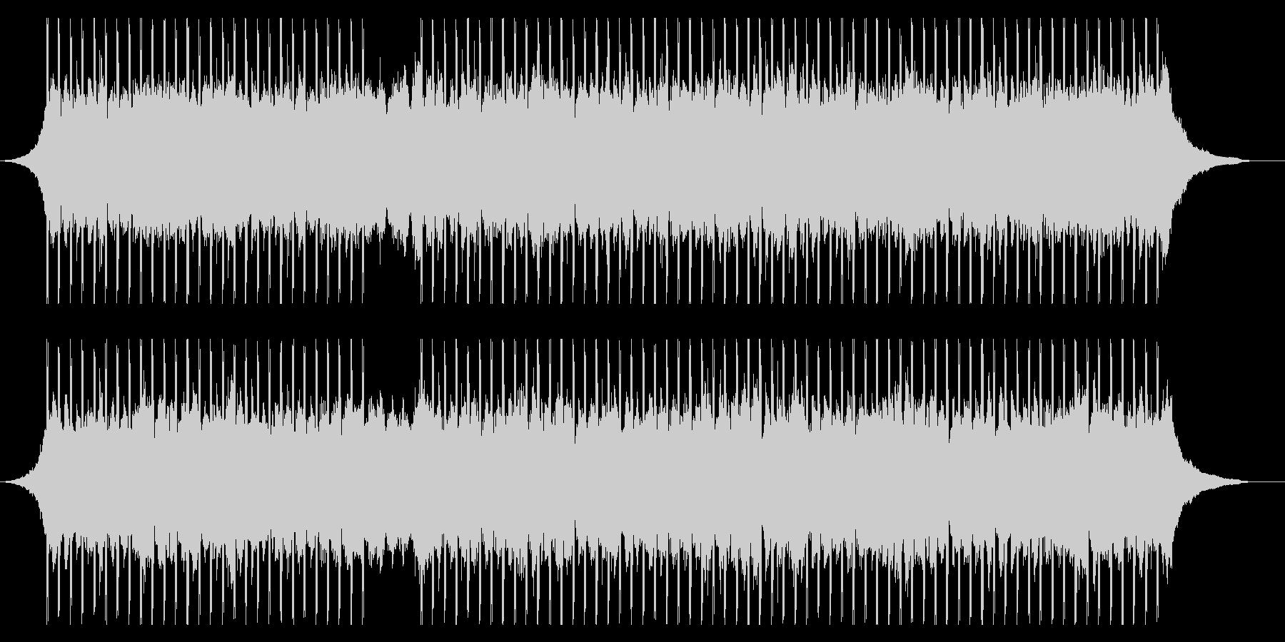 コーポレートプレゼンテーションの未再生の波形