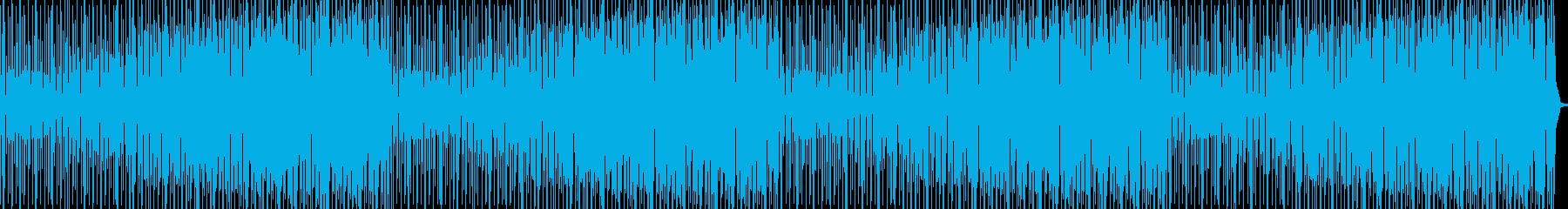8ビットのクランチドラムを使用した...の再生済みの波形