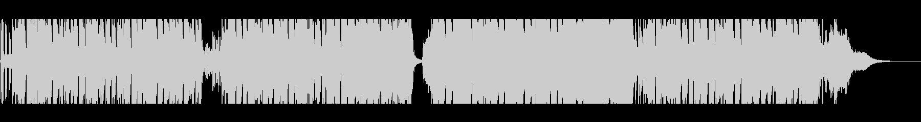 キュートでレトロなボサノバ風ラウンジの未再生の波形