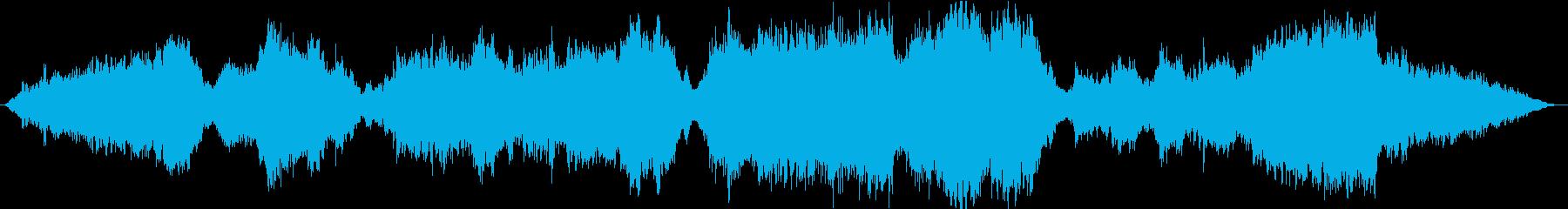感動・壮大なストリングスメインのバラードの再生済みの波形
