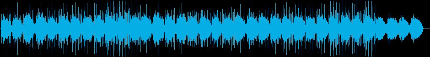 無機質なミニマルテクノ 2の再生済みの波形