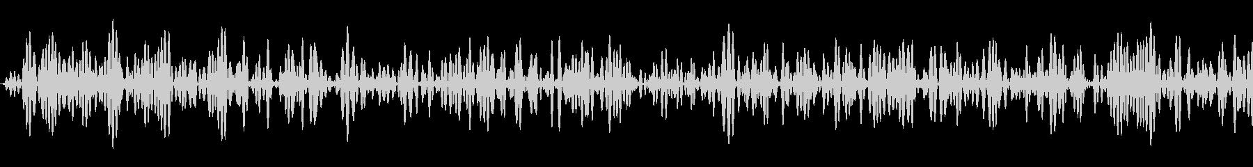 ザッ(レシーバーで喋った後に鳴るノイズ)の未再生の波形