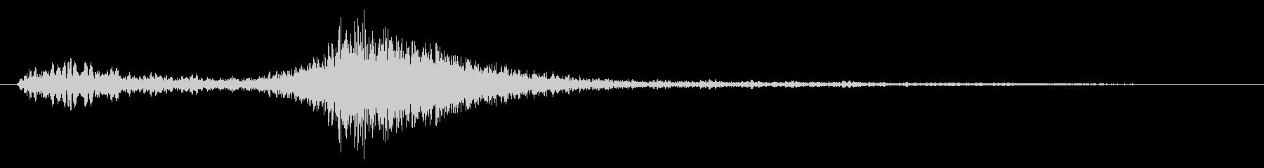 メニュー画面音(ウインドウ開閉など)03の未再生の波形