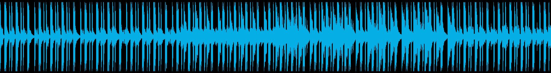 幻想的 ふわふわ アンビエントの再生済みの波形