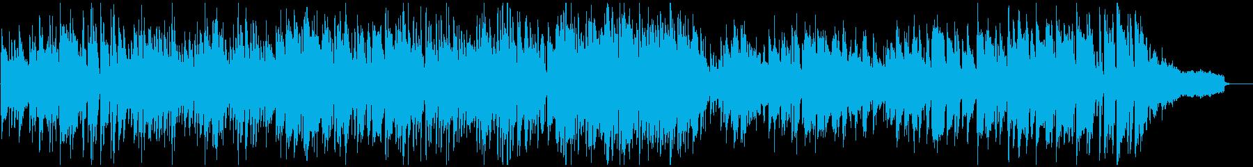 明るいボサノバ、爽やかジャズ・サックスの再生済みの波形