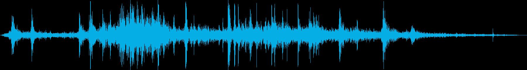 食べ物を食べる/かじる/噛む,効果音02の再生済みの波形