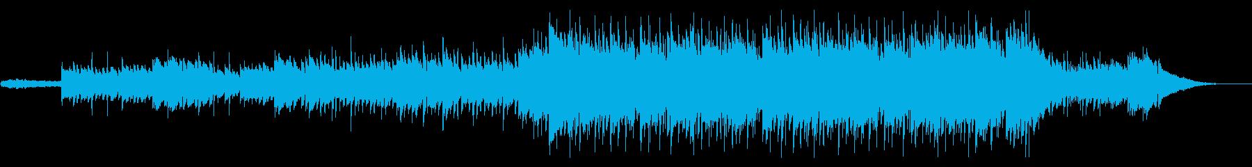 自然感じる温かみのあるバラードの再生済みの波形