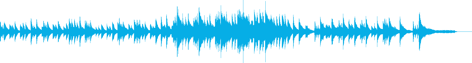 瞑想的なサウンドトラックはピアノか...の再生済みの波形