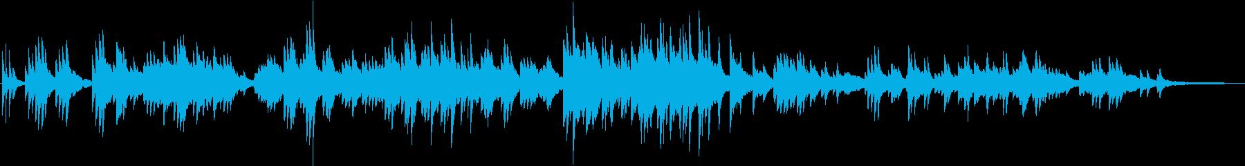 ノスタルジックで切ない 和風なピアノソロの再生済みの波形