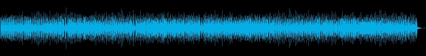 わくわくするブルーグラスの再生済みの波形