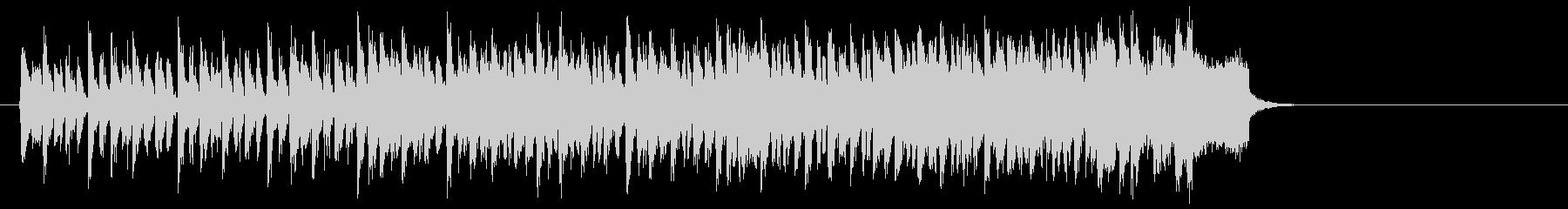 力強い歌謡曲風ポップス(イントロ~エ…)の未再生の波形