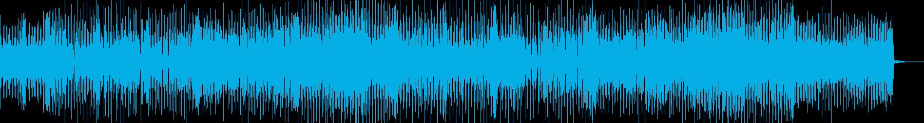 切なくてカッコいいポップロック曲の再生済みの波形