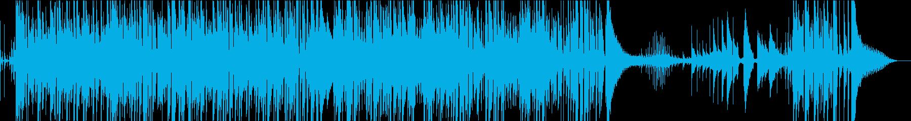 ショパンのノクターン・ギターインストの再生済みの波形