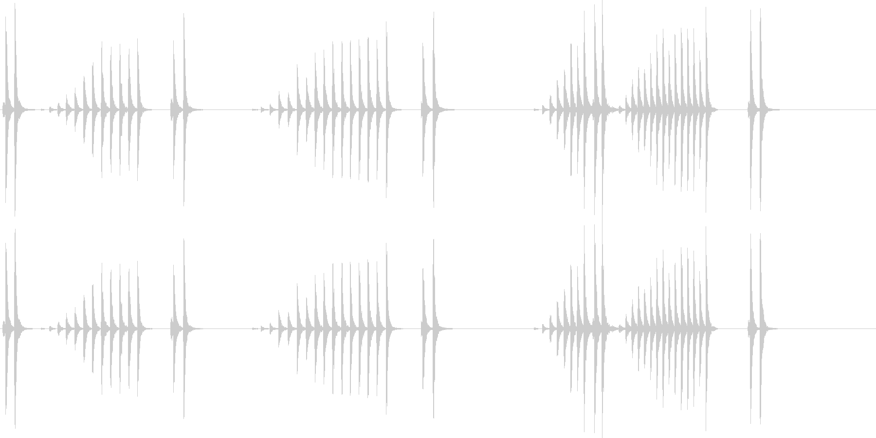 大太鼓30波音f歌舞伎情景描写和風和太鼓の未再生の波形