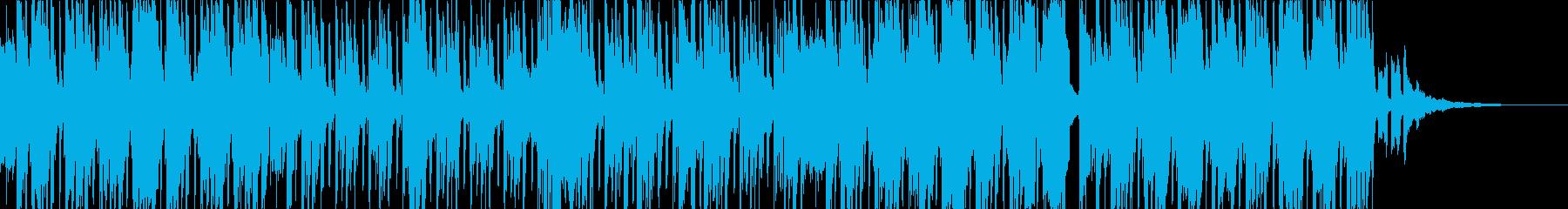 お洒落で可愛いインストの再生済みの波形