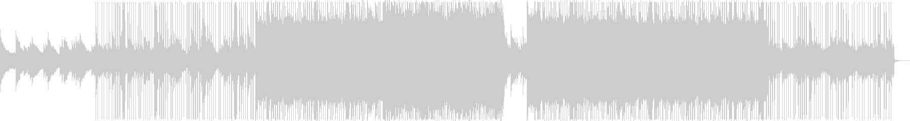 ハンドベルの音が心地よいシンプルなBGMの未再生の波形
