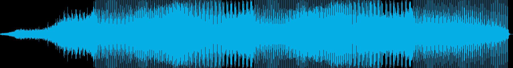 ファンキーなクラブミュージックの再生済みの波形